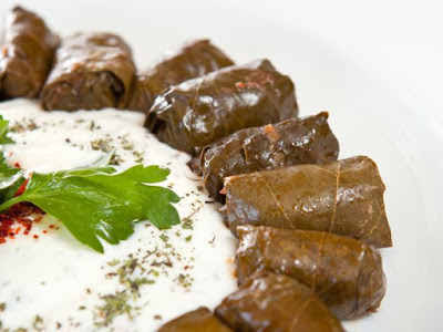 Vine Leaves with Sauce