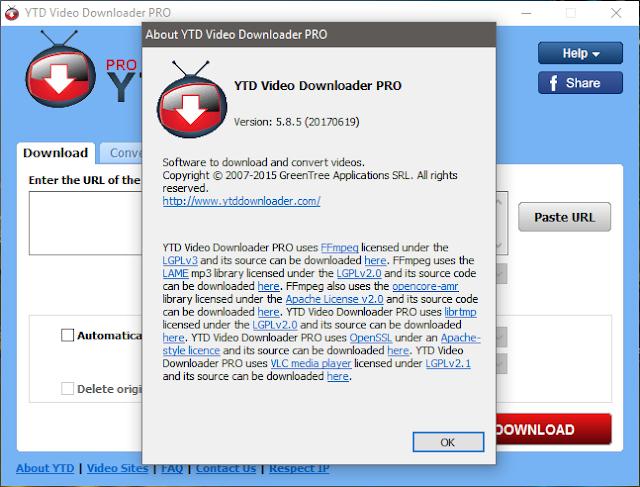 YTD Video Downloader free download full version windows 7 10