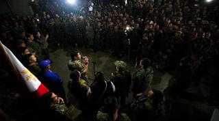 Duterte Ajak Indonesia dan Malaysia Perangi ISIS di Marawi