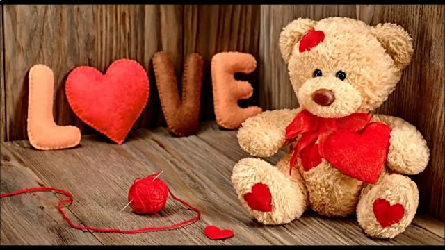 Images of love of Teddy