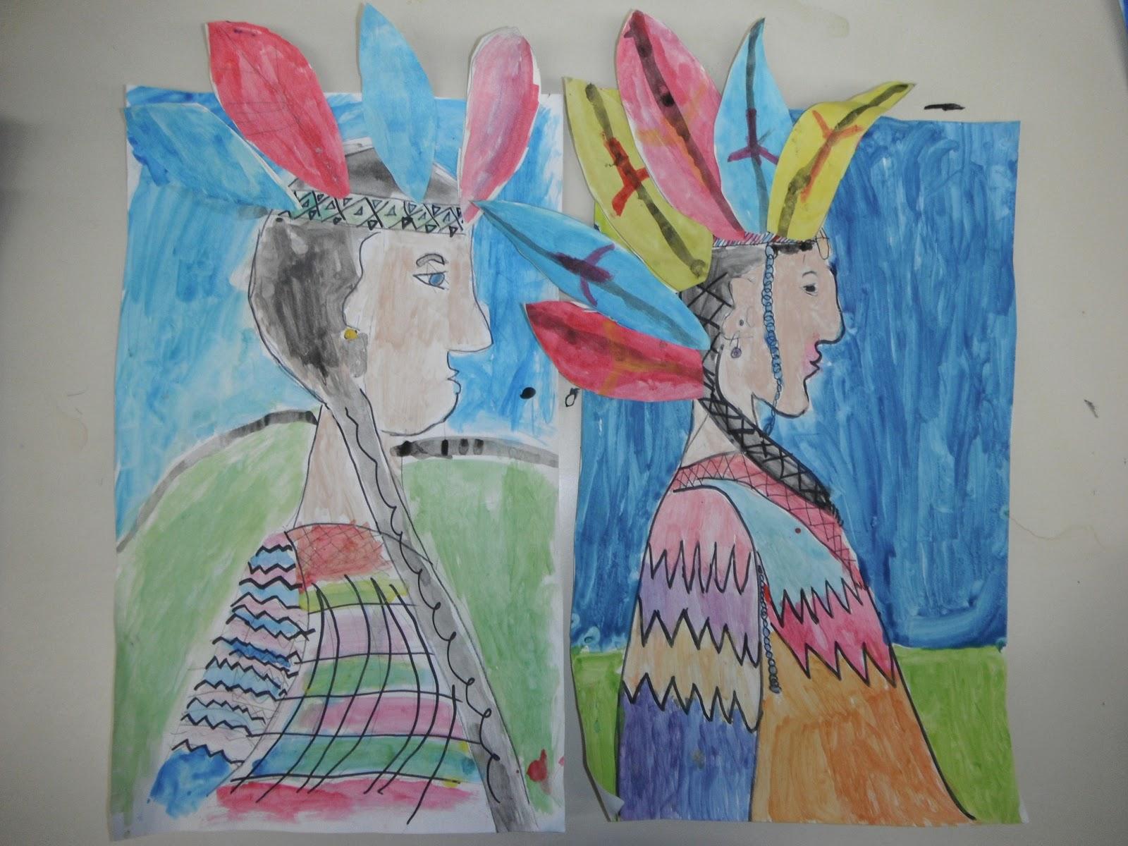 Cassie S Corner Native American Portrait