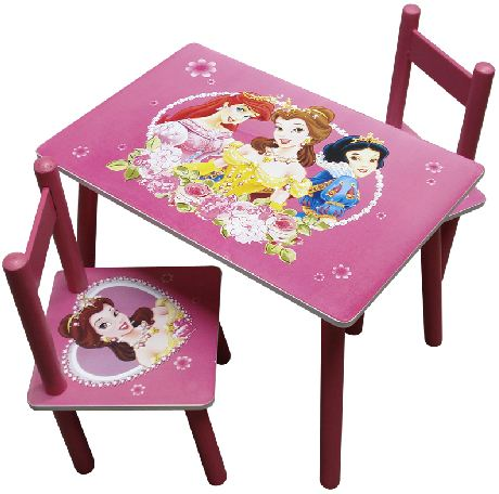 My Cherry Trading : Disney Princess Square Table and Chair Set