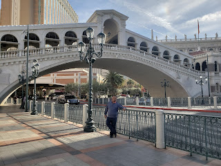 Rialto Bridge replica at the Palazzo and The Venetian in Las Vegas Nevada