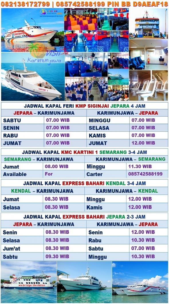 Jadwal Kapal Ke Karimunjawa Terbaru