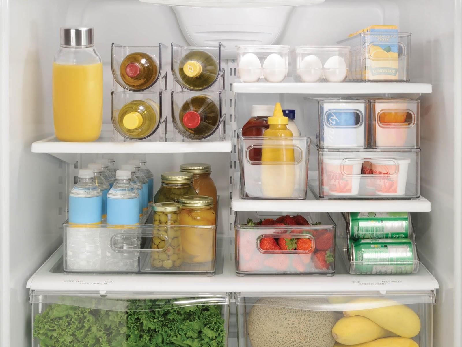طريقة تنظيم وترتيب الثلاجة بالصور