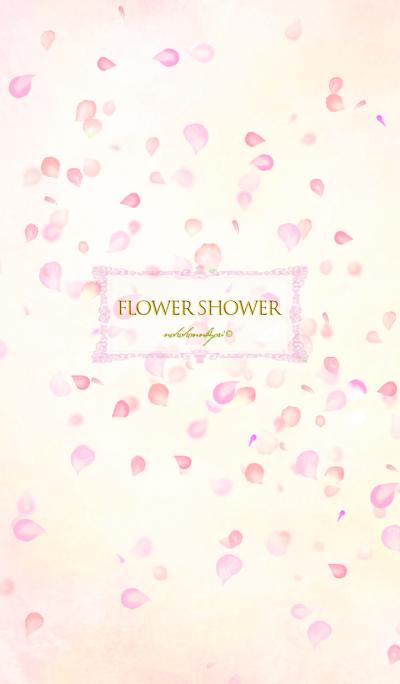 Spring flower shower