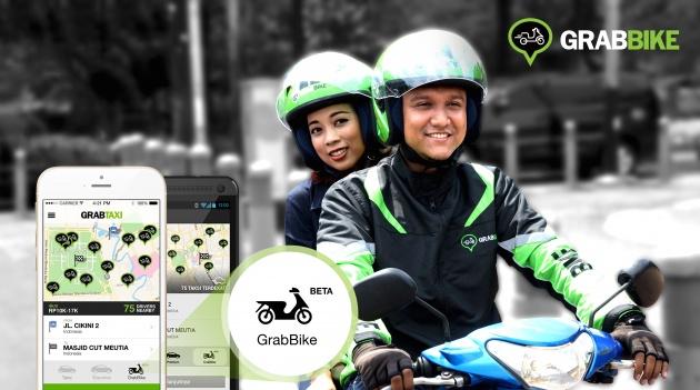 Honda Dan Grab Bakal Realisasikan Perkhidmatan GrabBike Di Malaysia