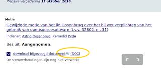 Cor Nouws: Dutch parliament votes to make open standards mandatory