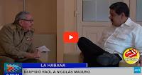 Cuba anuncia que Maduro los visitó pero nosotros ni nos enteramos
