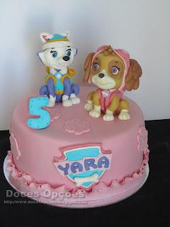 A Patrulha Pata no 5º aniversário da Yara