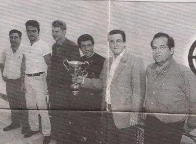 Equipo del Club Xec-Epic Barcino Campeón de España de Ajedrez 1998