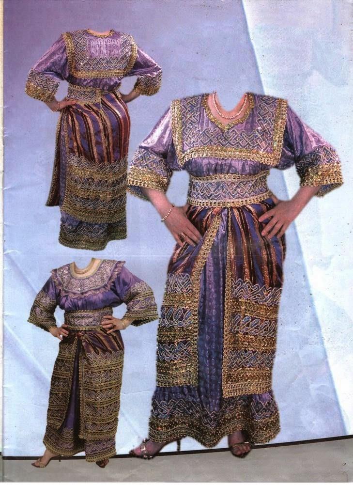 Walking Distance Amp Et Cetera Algeria Traditional Clothing