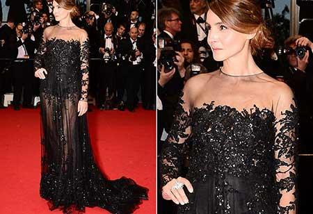 Vestido de renda preto madrinha
