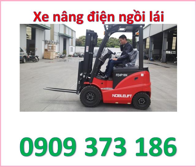 d4 mua xe nâng điện ngồi lái 1600kg noblelift cao 3m, 4m, 5m ở đâu   0909 373 186