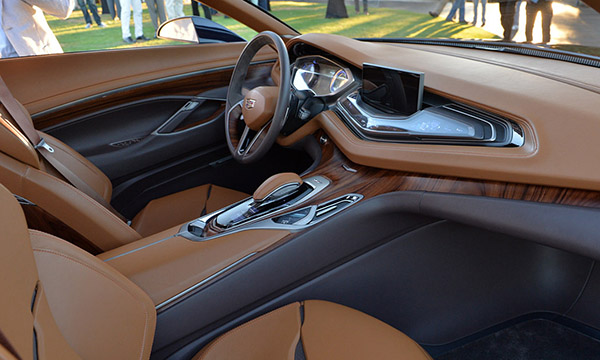 Burlappcar: 2020 Cadillac CT5 Interior
