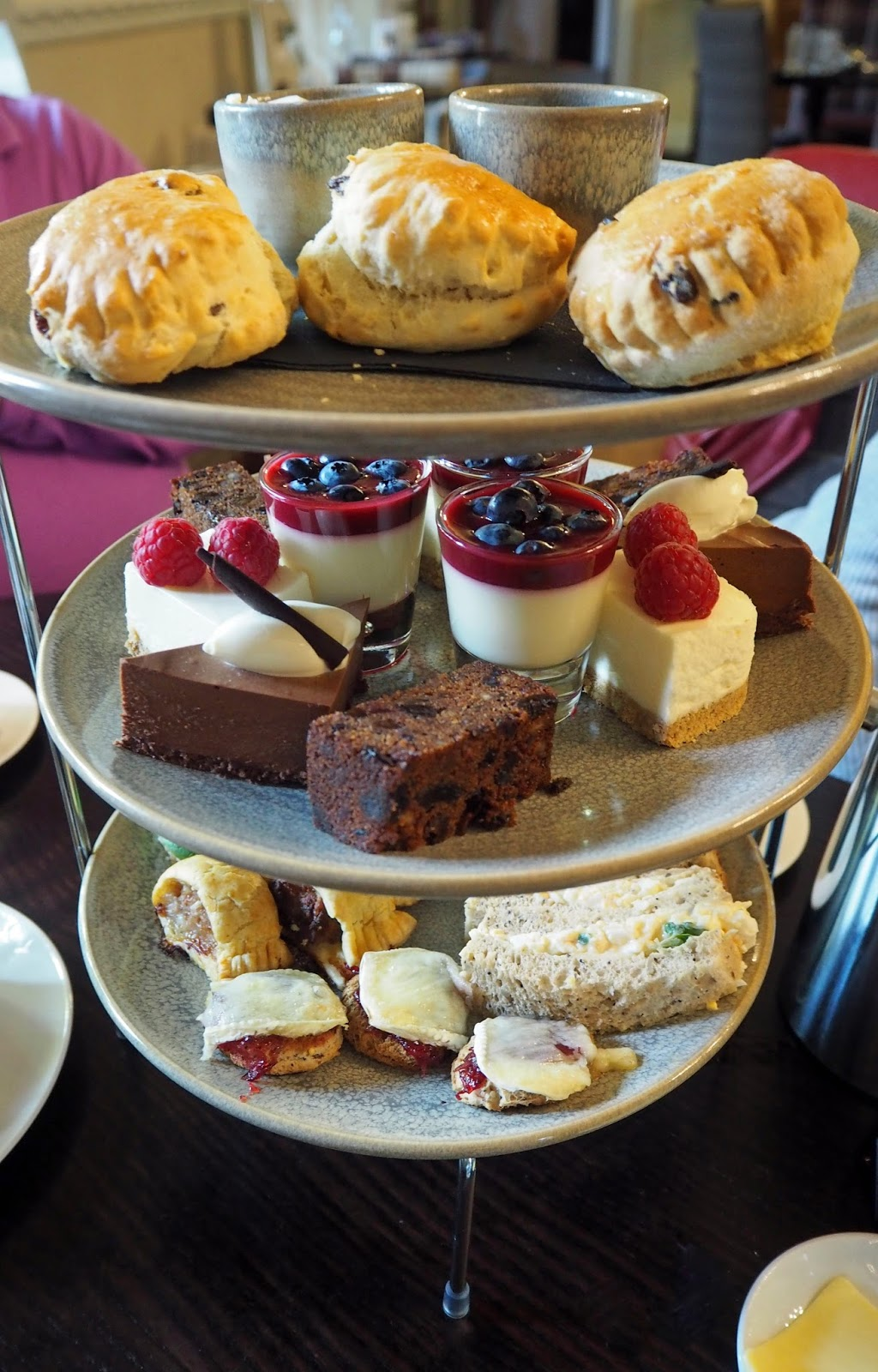 Prime restaurant, Stirk House, Gisburn,afternoon tea