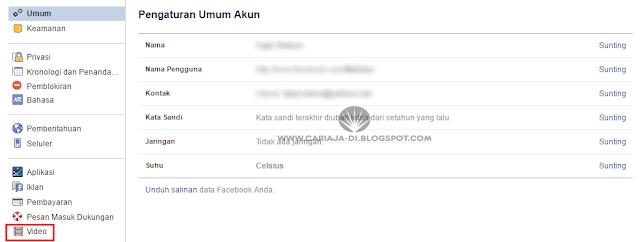 Cara Menonaktifkan Autoplay Video Facebook di PC