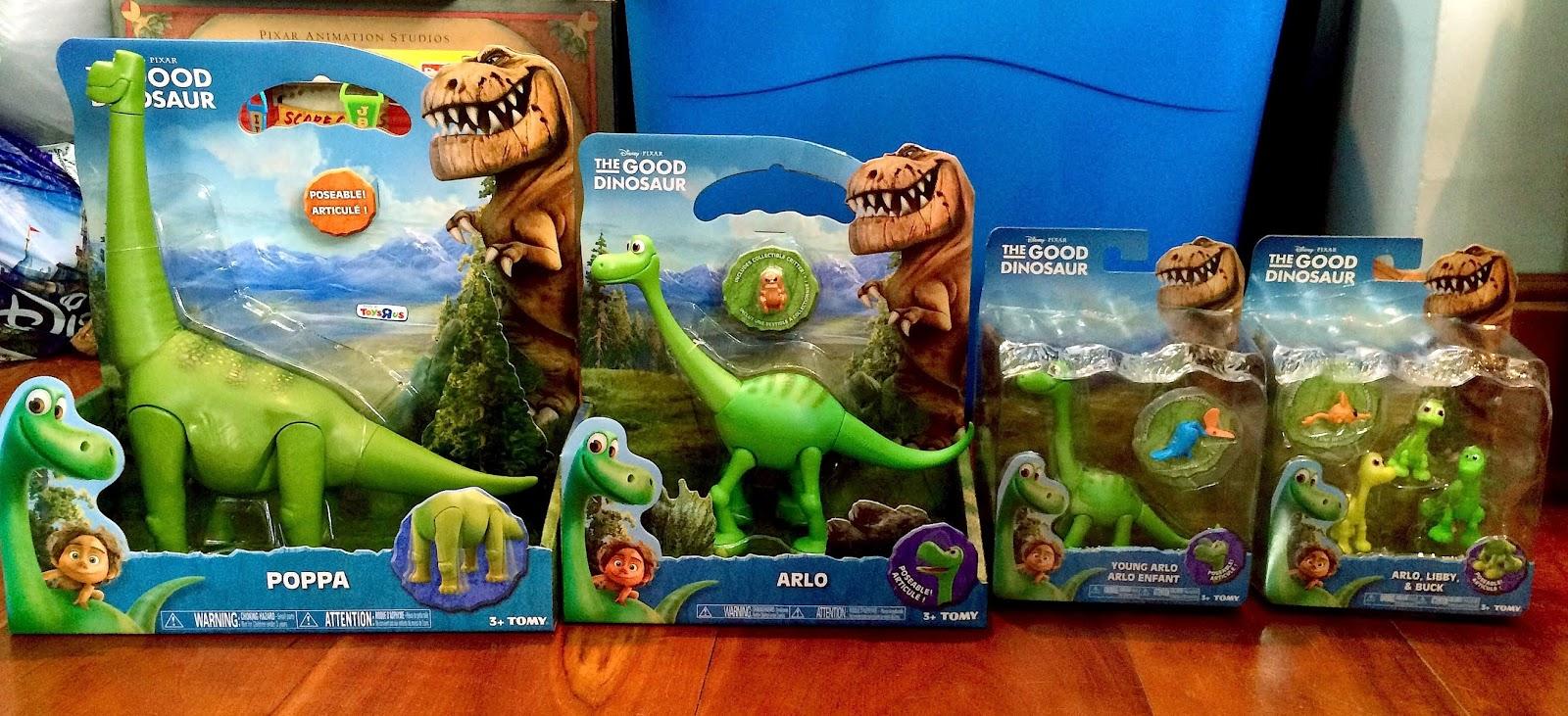 Dan The Pixar Fan The Good Dinosaur Tomy Action Figures