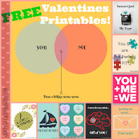Puzzle Valentine's & Free Valentine prints! (most print sizes)