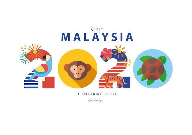 Design Logo Visit Malaysia 2020 Yang Gempak