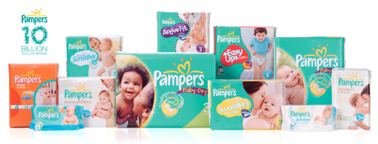 Pampers 2012