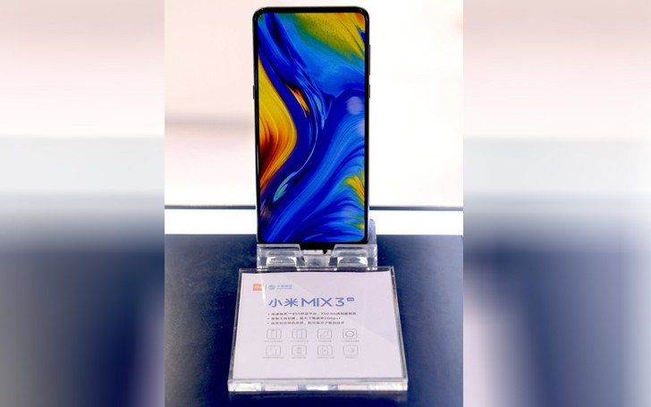 xiaomi mi mix 3 5G with snapdragon 855