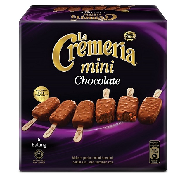 The New LA CREMERIA MINI Launched - A Perfect Bite-sized Indulgence