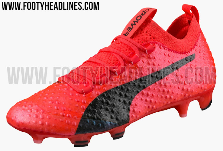 This is the new red and black Puma evoPOWER 3D Vigor 2017 football boot. 01abbc5cc