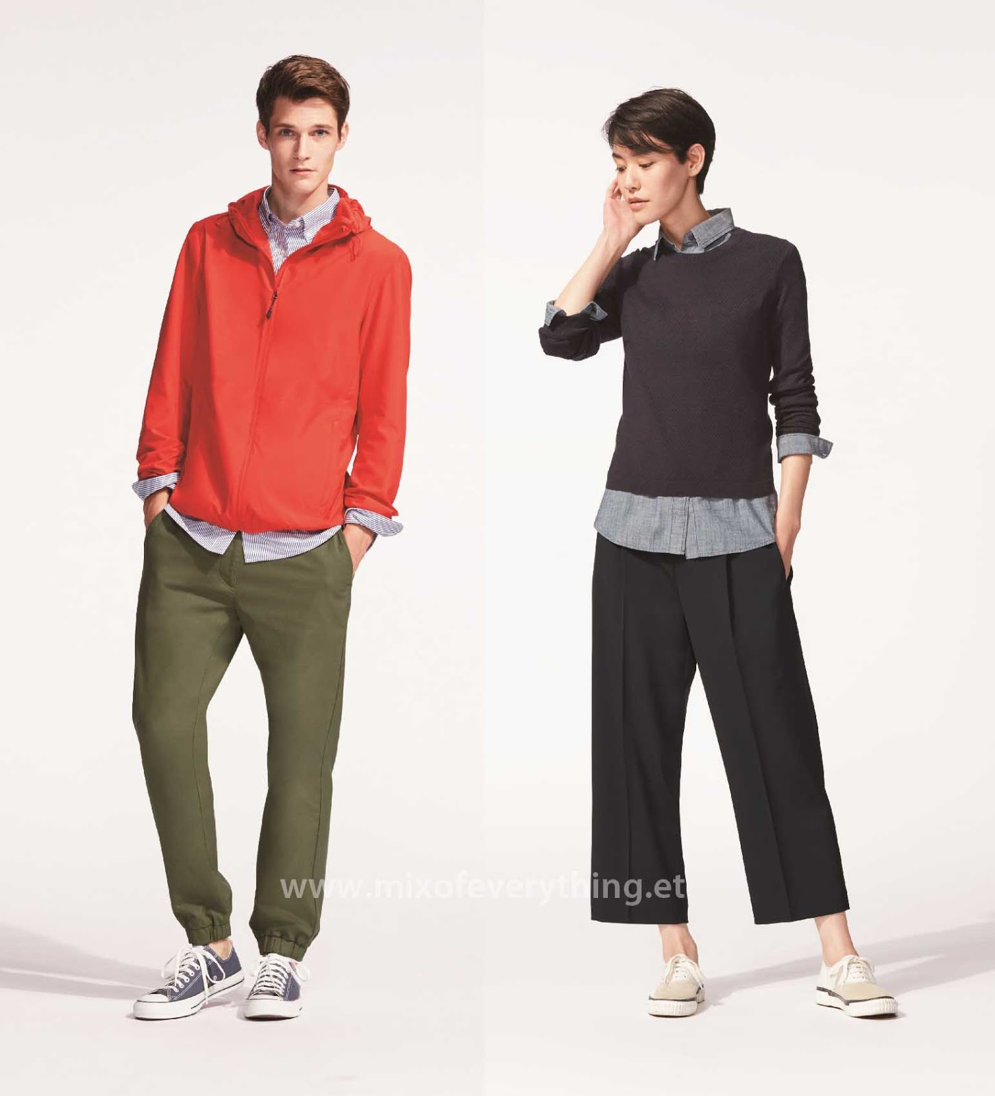 Uniqlo Jogger Pants & Gaucho Pants Highlights the 2016 Spring ...