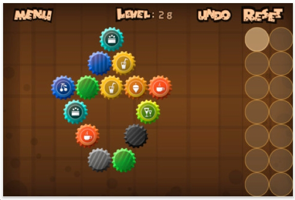 The Best iphone, ipad Puzzle Apps and Mechanical Puzzles: Cross Caps