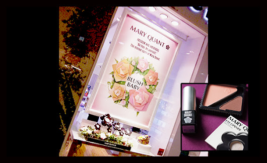 Emily's Anthology - a Malaysian beauty blogger living life between KL and Melbourne: Product Launch: Mary Quant Cosmetics at Muse by Watsons