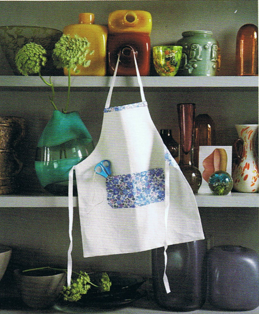 image the liberty book of home sewing apron child kitchen