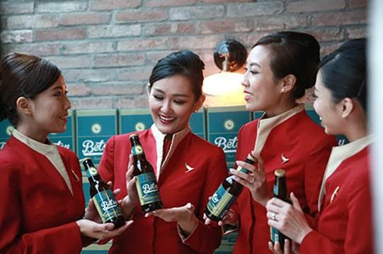 Cathay Pacific introduces Betsy Beer