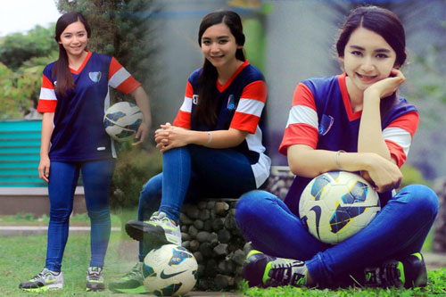 Foto Fortunella Levyana Fisioterapis Cantik Persib Bandung