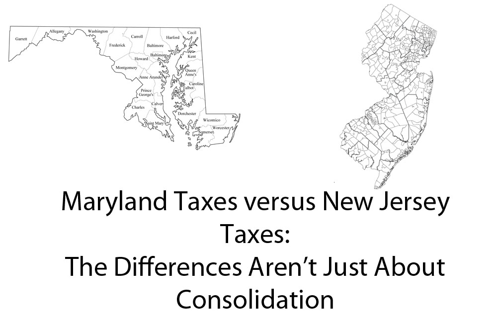 New Jersey Education Aid: Maryland State aid