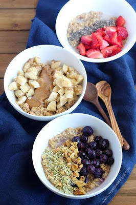 Overnight Steel Cut Oats (Hot or Cold)