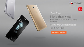 Flash Sale 23 Juni 2016 Alcatel Flash Plus 2 LTE Android Marshmallow Murah 5.5 inch