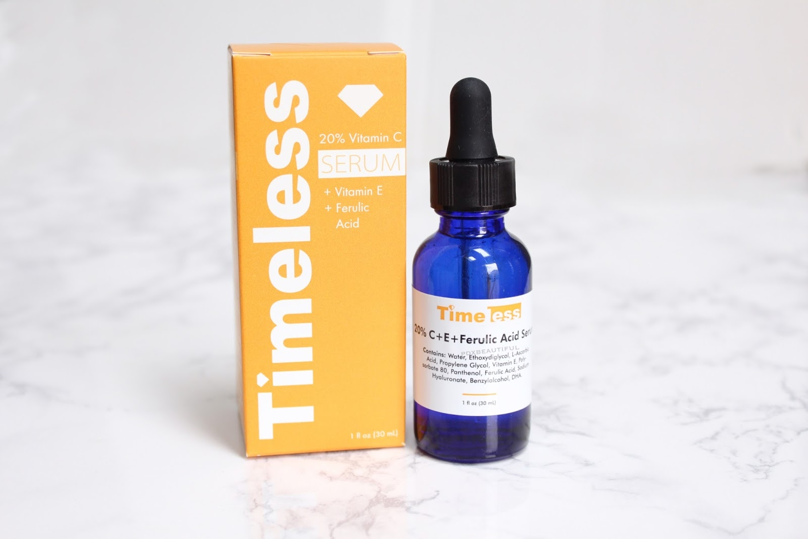 timeless 20 vitamin c serum review pdxbeautiful. Black Bedroom Furniture Sets. Home Design Ideas
