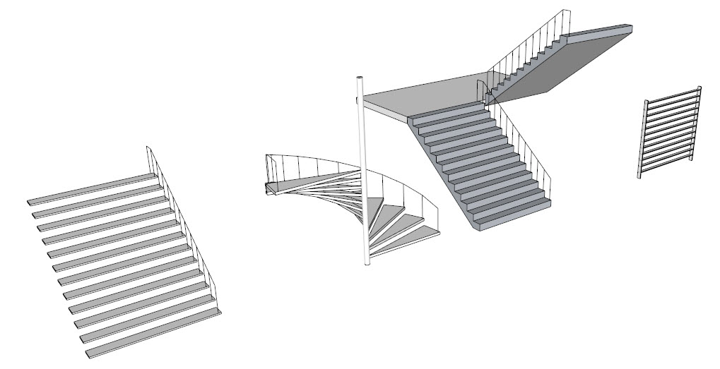 Sketchup for Interior Design: Stairs in SketchUp