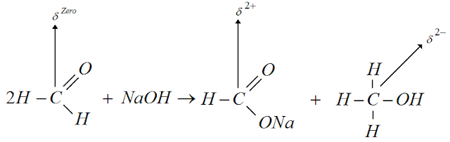 Reaçao metanal hidroxido sodio