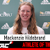 Mackenzie Hildebrand is the MCAC's Male Athlete of the Week