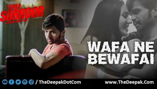 Wafa Ne Bewafai Guitar Chords, Hindi song from the movie Teraa Surroor