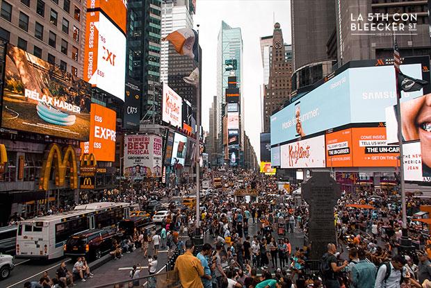que hacer en Nueva York times square