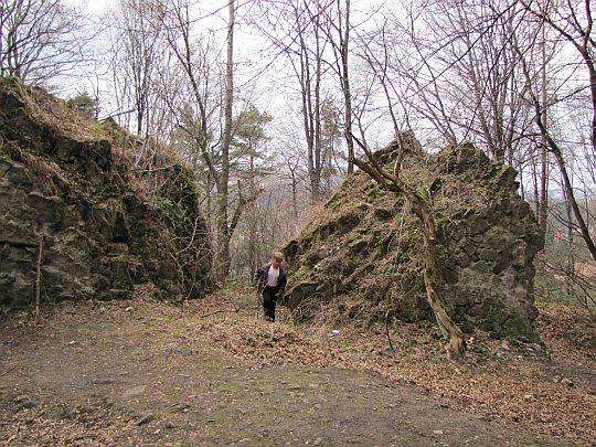 Ruiny średniowiecznej strażnicy