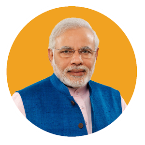 PM of India, Shri Narendra Modi Ji.