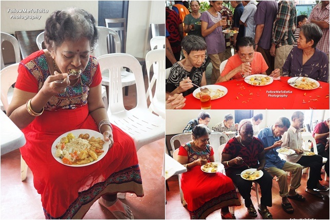 An Afternoon Of Good Food For The Residents At PJ Caring Home