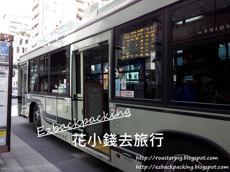 京都去嵐山搭京都巴士