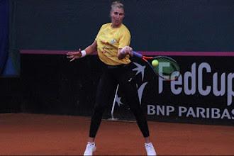 Bia Maia chega e equipe do Brasil para a Fed Cup de Tênis está completa