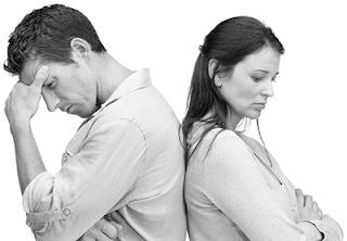 Resultado de imagem para mulher e marido não se fala