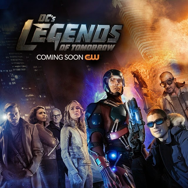 Legends of Tomorrow - CW's spinoff of 'Arrow' and 'The Flash'